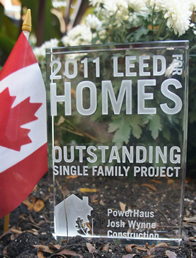 Power Haus takes home 2011 LEED for Homes Award