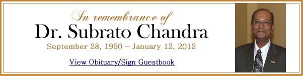 Subrato Chandra